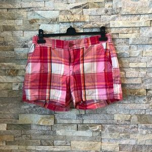🌱Old Navy pink plaid shorts size 8